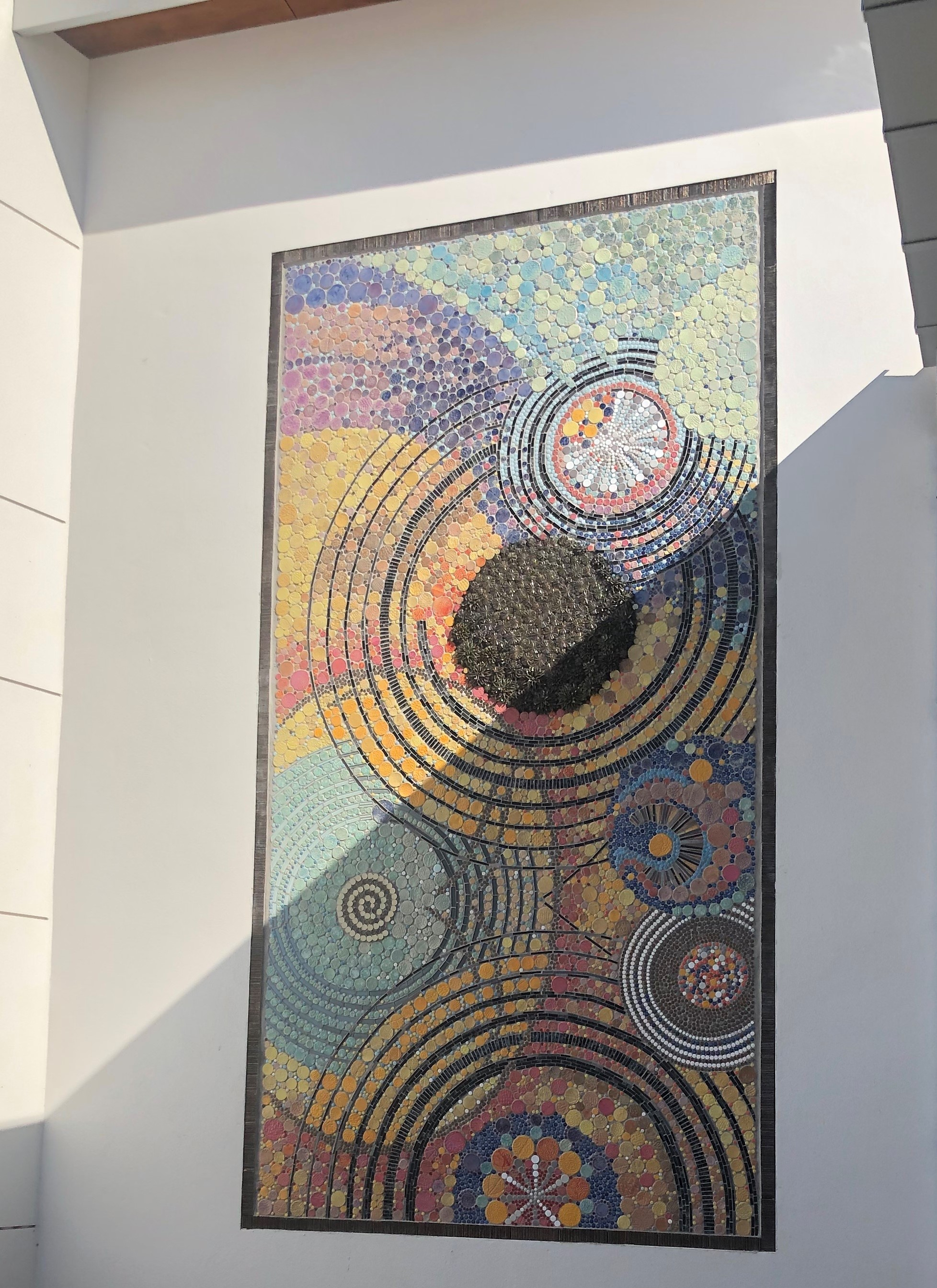 Charlotte Burrie Mosaic Installed